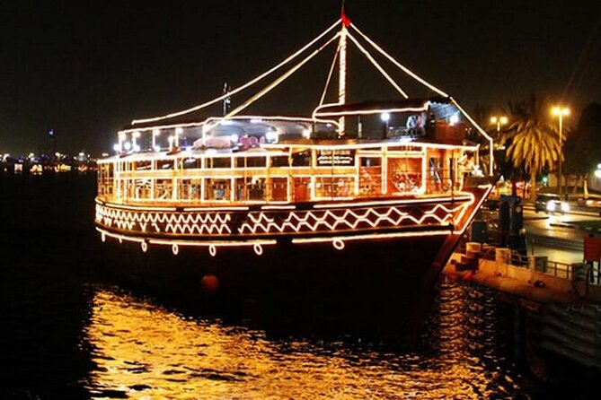 Luxury Dhow Cruise In Marina with International Buffet Dinner with Live Shows