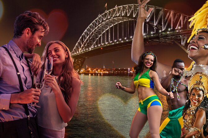 Valentine's Day Dinner Cruise with live Brazilian show on Sydney Harbour