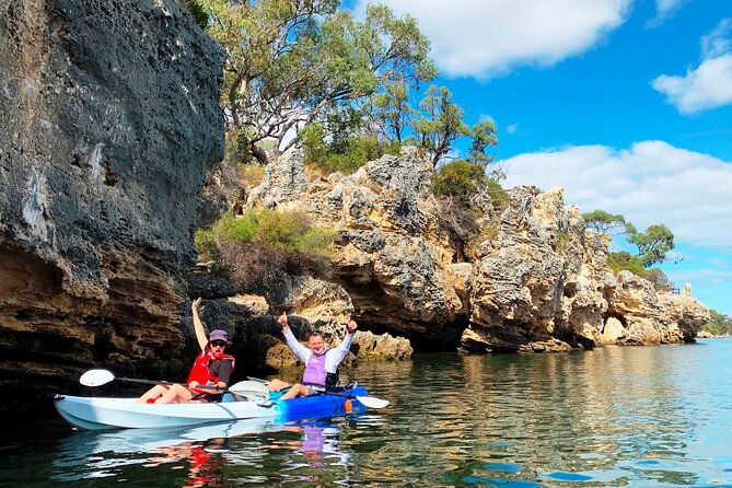 Cliffs and Caves Kayak Tour in Swan River