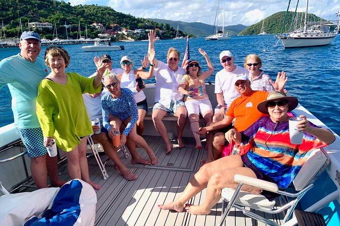 US Virgin Islands Beach Bar and Island Hop - Full Day!