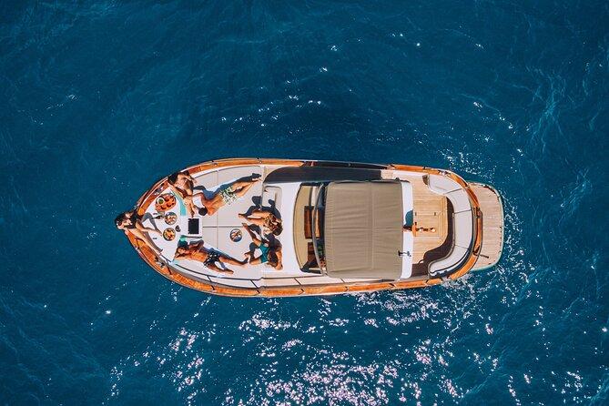 Capri Private Boat Tour from Sorrento, Positano or Naples - Gozzo Jeranto 950