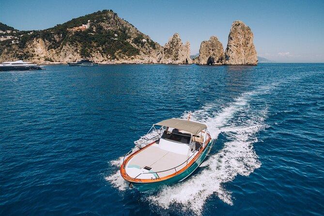 Capri Private Boat Tour from Sorrento, Positano or Naples - Gozzo Jeranto 900
