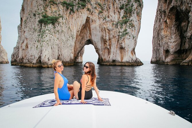Sorrento, Capri and Blue Grotto Boat Trip-Prime Experience with max. 8 guests