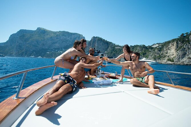 Capri Boat Tour from Sorrento with Banana Boat Ride - Under 30s