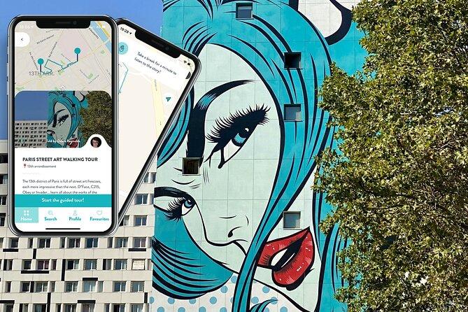 Paris Street Art, smartphone audioguided tour