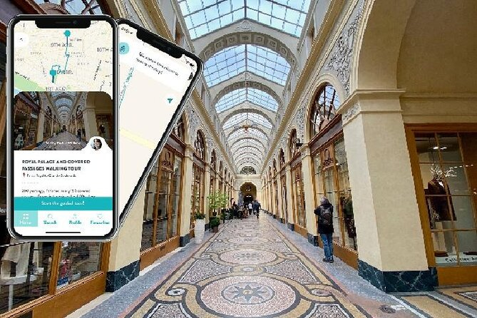 Royal Palace & Covered Passages, audioguided tour
