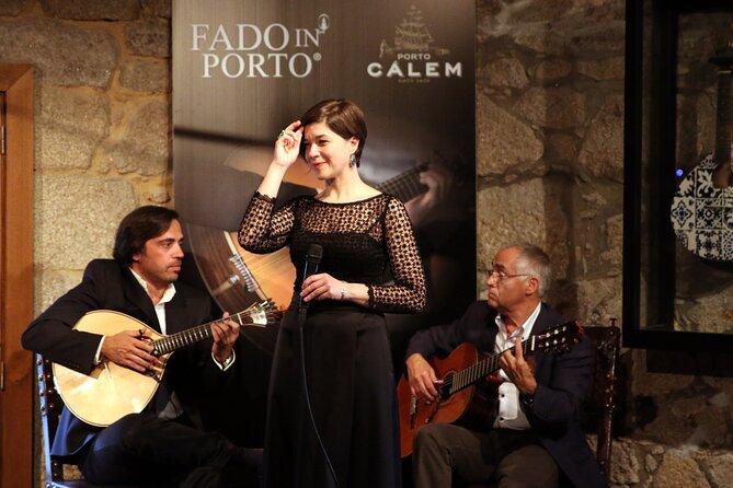 Fado Show in Porto Cálem Wine Cellars Including Wine Tasting and Visit