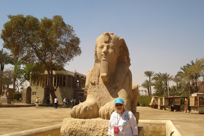 8 hours Cairo day Tour to Giza Pyramids, Memphis City, Sakkara and Dahshur