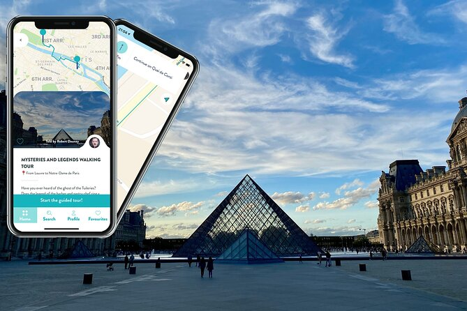 Mysteries & Legends, smartphone audioguided walking tour