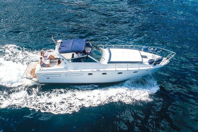 Exclusive private boat tour of Capri from Positano