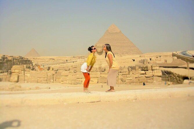 Giza Pyramids Private Guided Cairo Half-Day Tour
