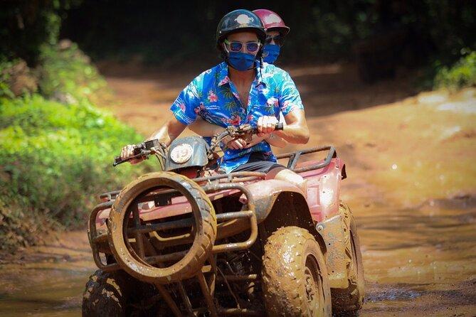 Cancun ATV, Ziplines and Cenote Tour at Extreme Adventure Eco Park