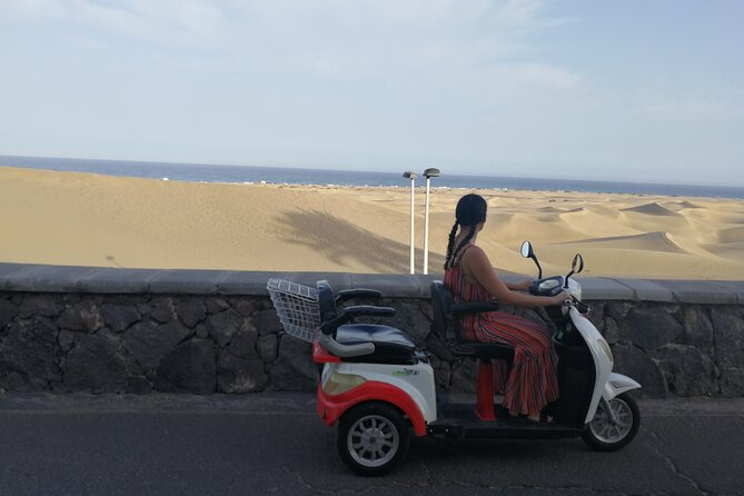 Rent an Electric Scooter Tricycle 1 to 7 days:Explore Maspalomas without walking