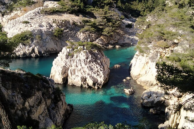 Visit Calanques. Day hike with commentary Calanques de Marseille