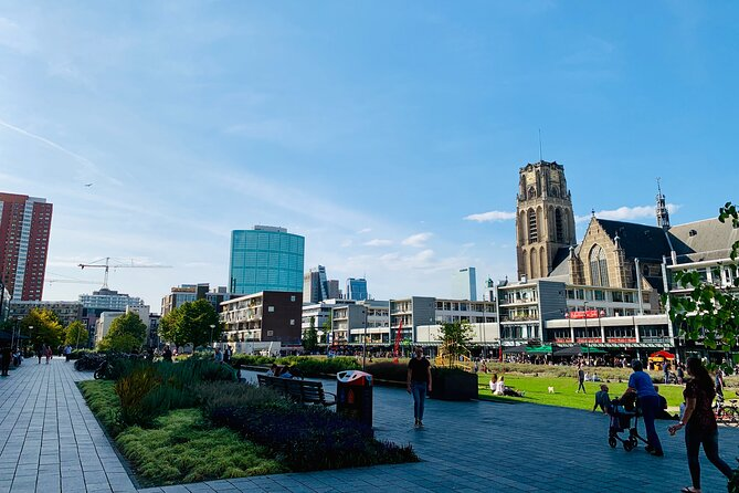 Private Experience in Rotterdam: Walking Tour & Harbor Cruise