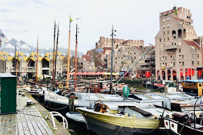 Private Walking Tour in Rotterdam and Harbor Cruise