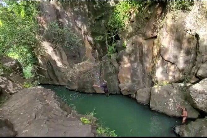 Poor mans Paradise cliff jump (PMP)