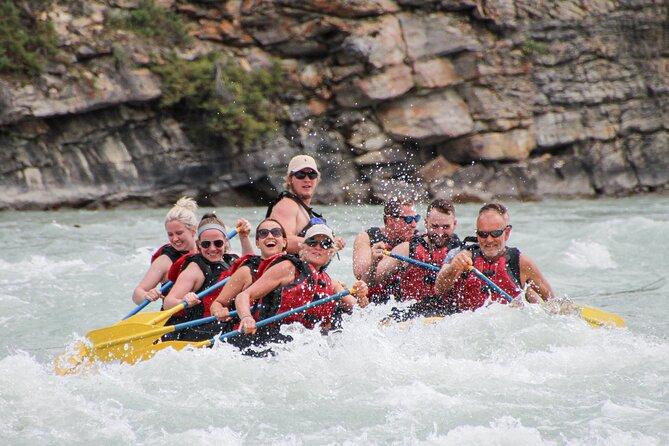 Rafting Athabasca Falls Run in Jasper