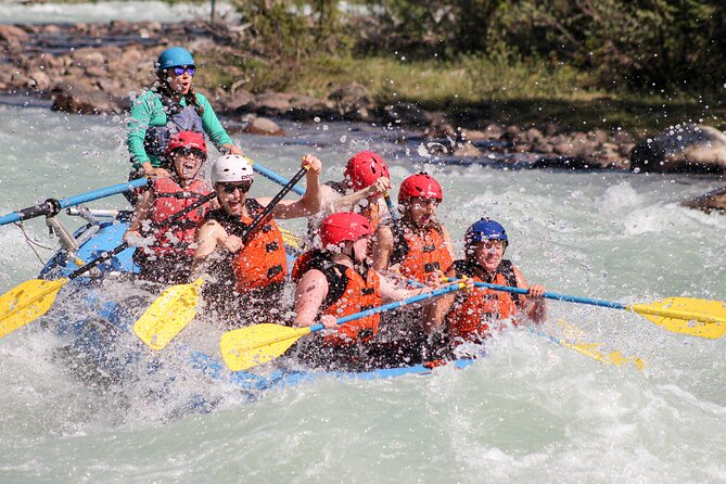 Class 3 Sunwapta River Rafting Adventure in Jasper