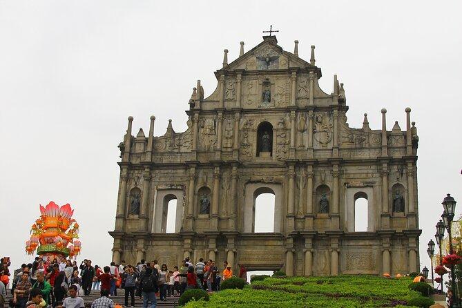 Private Tour: Macau Day Trip from Hong Kong