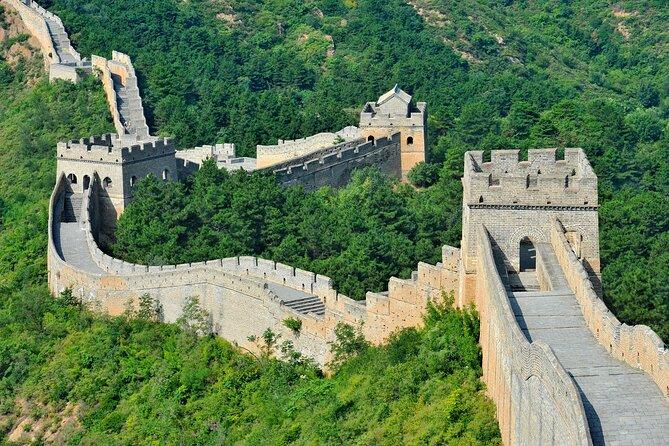 ムティアンユ万里の長城、ウォーターキューブ、鳥の巣の全日ツアー