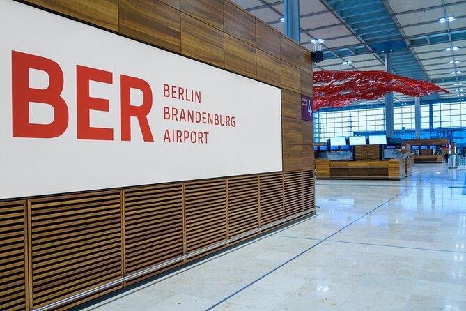 Round Trip Transfer Berlin Brandenburg (BER) to Berlin City by Luxury Car