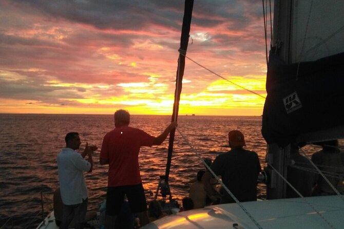 Tropical Sailing Sunset Tour in Playa Flamingo