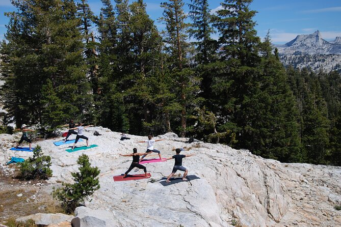 Yosemite Yoga Hike