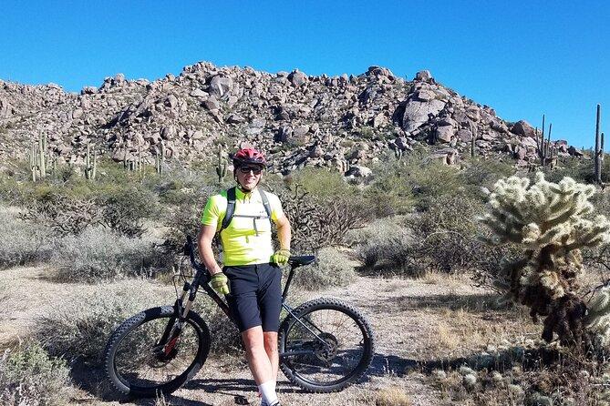 Private Solo Sonoran Desert 1.5 Hour Mountain Bike Adventure