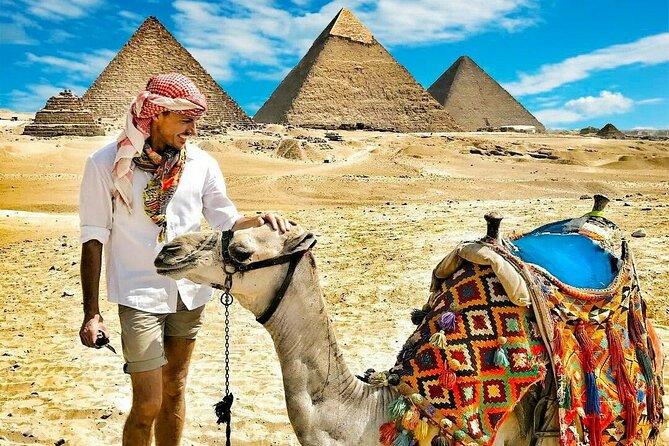 Cairo: Giza Pyramid, Sakkara & Memphis Full Day Guided Tour