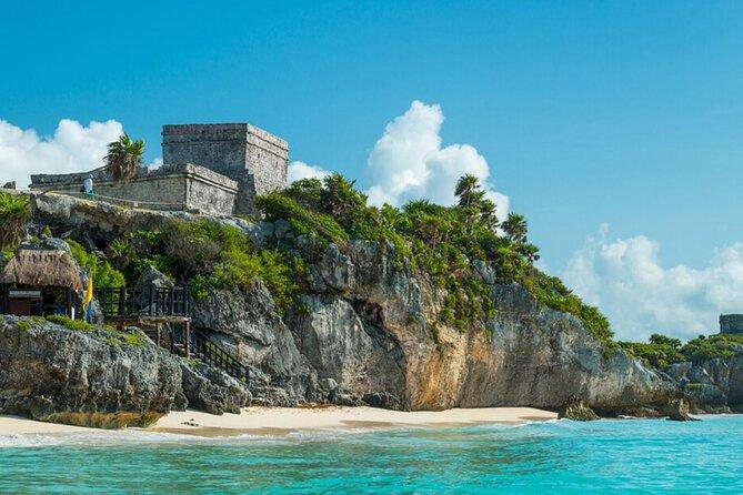 4x1 Tour Coba, Tulum, Cenote and Playa del Carmen