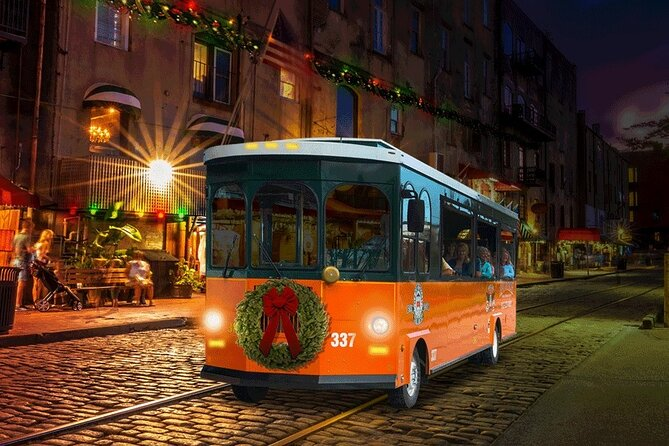 Savannah Holiday Lights Trolley Tour