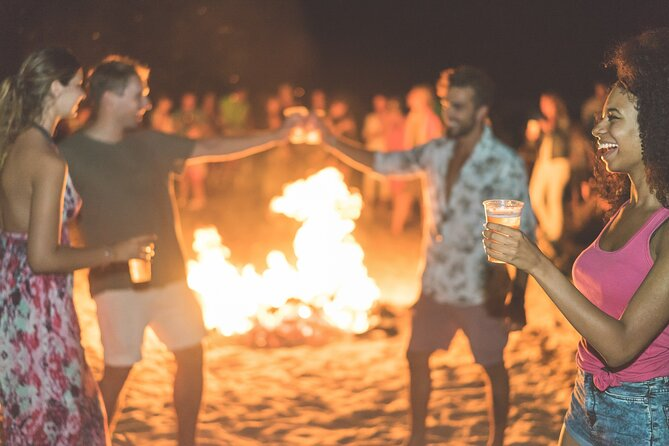 Freeport Bonfire on the Beach Bahamas Style met All You Can Eat Buffet