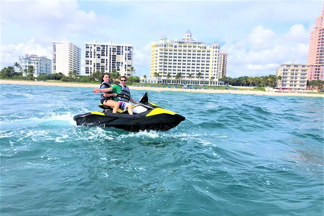 1-Hour Jet Ski Rental in Fort Lauderdale (holds 1 or 2 people)