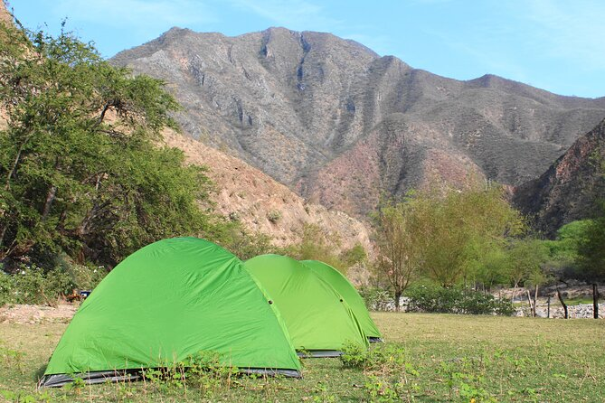 True mexican backcountry camping