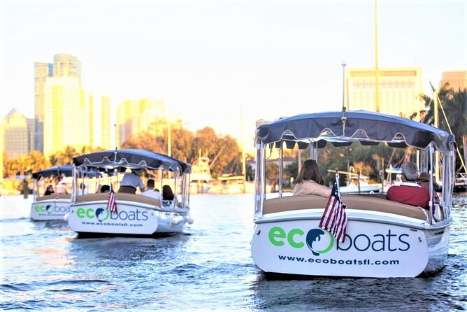 Private 18ft Electric Boat Rental or Tour in Fort Lauderdale with Captain