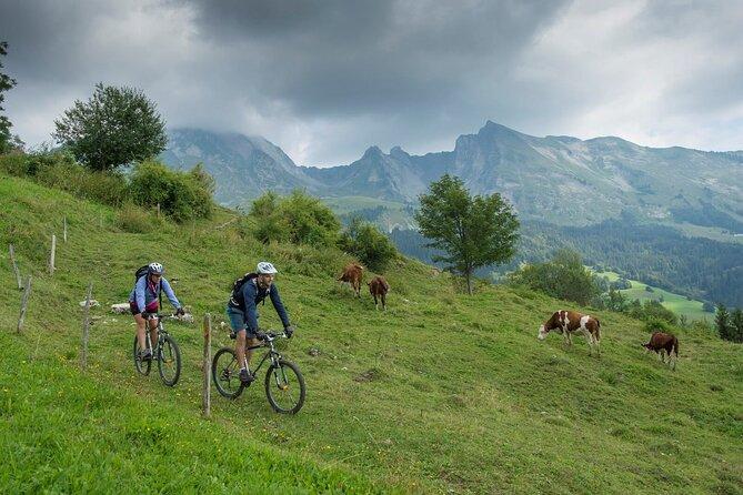 Electric Mountain Biking around Annecy