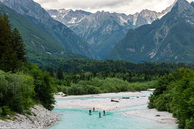 Whitewater SUP Soca Valley