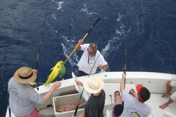 Private Half-Day Fishing/Snorkeling Boat Charter 48ft