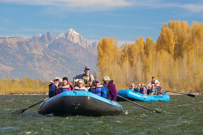7-Mile Teton Views Scenic Float in Jackson