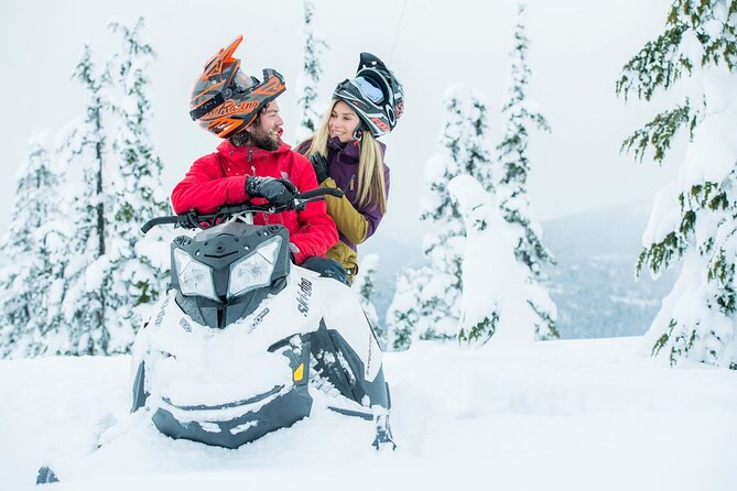 Whistler Wilderness Run Snowmobile Tour