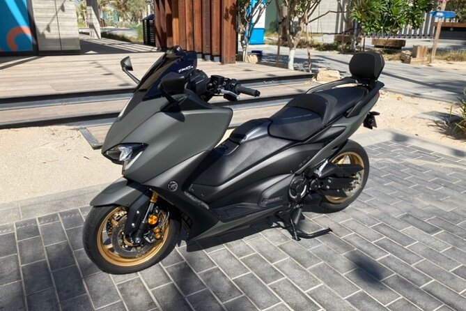 Full-day Tmax Scooter Rental in Dubai (Motorcycle driving license)