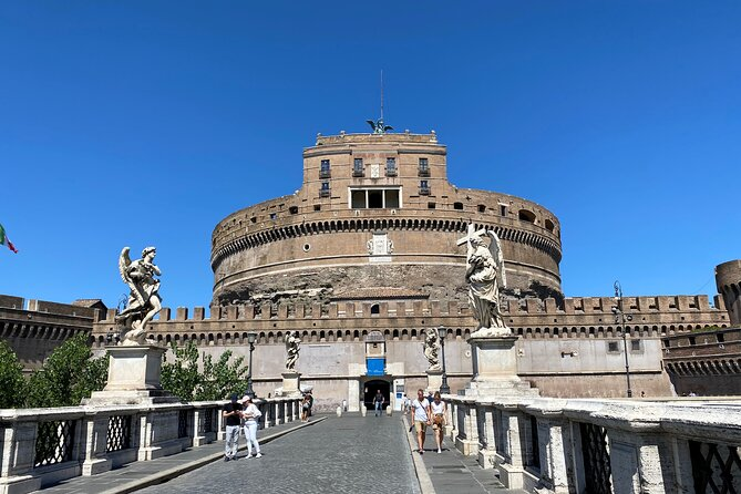 Castel Sant'Angelo reserved entrance ticket with Audio Guide