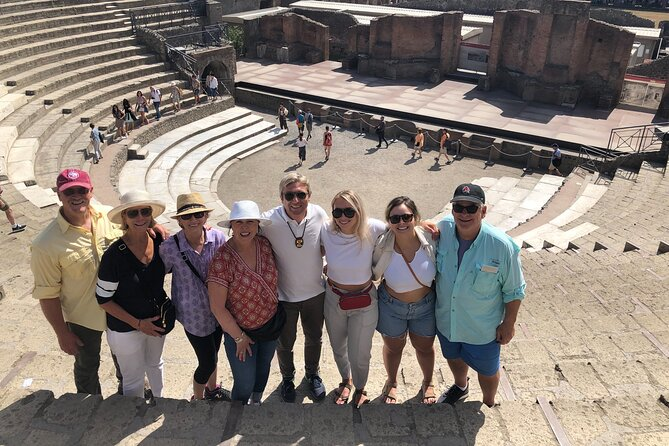 Private Tour: Pompeii plus Herculaneum with Family Tour Option