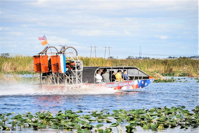 Everglades Airboat Tour & Gator Boys Alligator Rescue Show from Fort Lauderdale