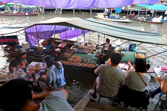 Private Amphawa Floating Market & Maeklong Train Market Tour
