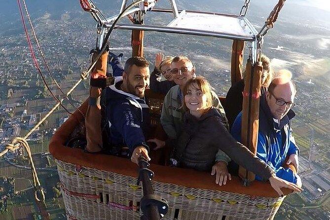Volo in Mongolfiera nella valle del Chianti