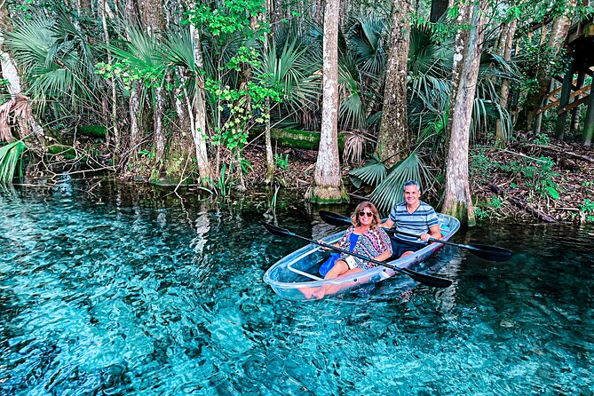 clear kayaking in Florida at Silver Springs. Kayaking trips in Florida