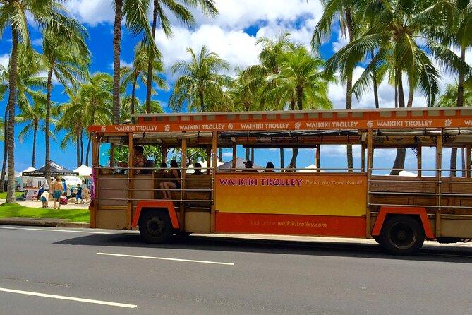 Waikiki Trolley Scenic Diamond Head & Honolulu City Tour
