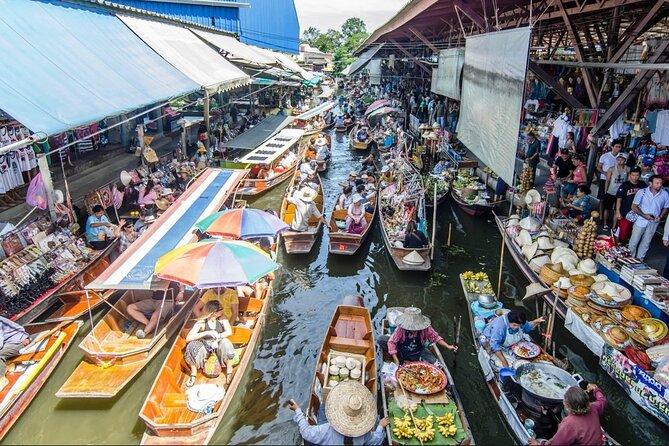Floating Market Damnoen Saduak Private Tour from Hua Hin